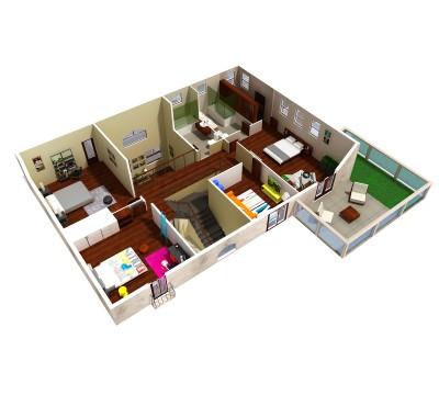 Solara 3D 2nd floor